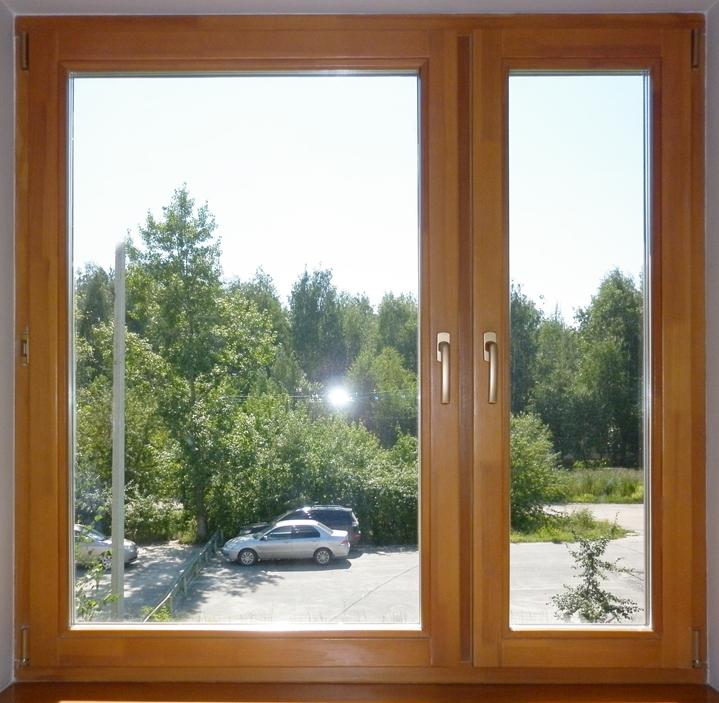 Деревянные окна в Витебске